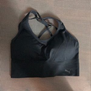 PUMA SPORTS BRA WITH REMOVABLE PADDING size XL